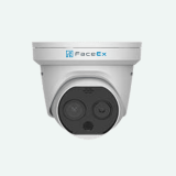 Thermographic Turret Thermal Temperature Measurement Camera